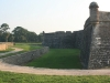 Castillo de San Marcos - the moat