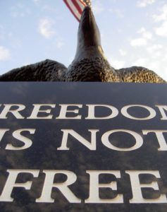 Freedom Is Not Free