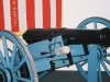 Cannon replica similar to the one used in the Dade battle