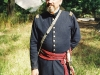 Reenactor playing Captain Gardiner
