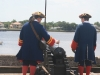Reenactors have to attend cannon school to fire these old weapons