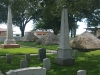 St. Augustine National Cemetery - The Seminole Wars Monument and pyramids