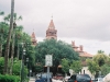 Cathedral Place where it dead ends into Cordova Street at Flagler College