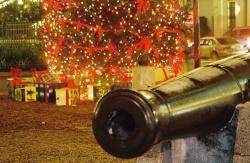 Plaza at Christmas