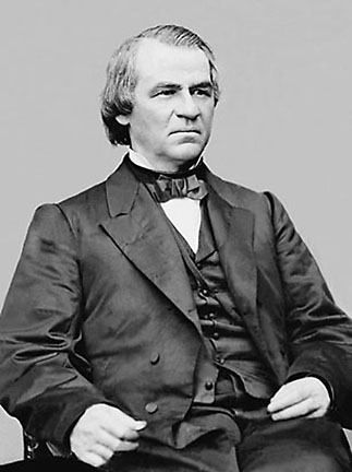 First President to be Impeached: Andrew Johnson - Doug DillonAndrew Johnson